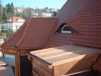Blechverlkeidungen an Gauben und Dächer